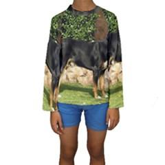 Gsmd Full Kids  Long Sleeve Swimwear