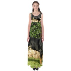 Gsmd Full Empire Waist Maxi Dress