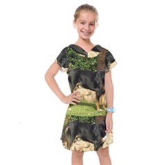 Gsmd Full Kids  Drop Waist Dress