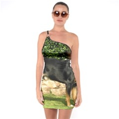 Gsmd Full One Soulder Bodycon Dress
