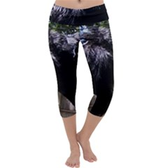 Giant Schnauzer Capri Yoga Leggings