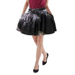 Giant Schnauzer A Line Pocket Skirt