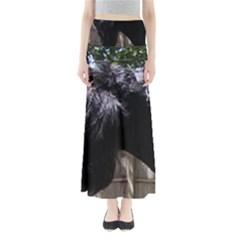 Giant Schnauzer Full Length Maxi Skirt