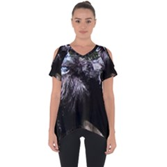 Giant Schnauzer Cut Out Side Drop Tee