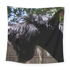 Giant Schnauzer Square Tapestry (large)