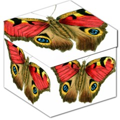 Butterfly Bright Vintage Drawing Storage Stool 12