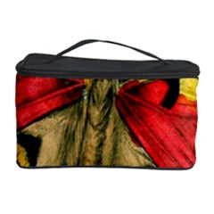 Butterfly Bright Vintage Drawing Cosmetic Storage Case