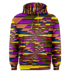 Autumn Check Men s Pullover Hoodie