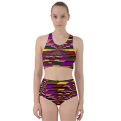 Autumn Check Bikini Swimsuit Spa Swimsuit