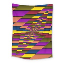 Autumn Check Medium Tapestry