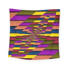 Autumn Check Square Tapestry (small)