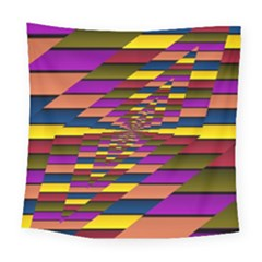 Autumn Check Square Tapestry (large)