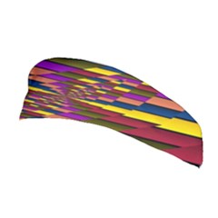 Autumn Check Stretchable Headband