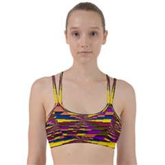 Autumn Check Line Them Up Sports Bra