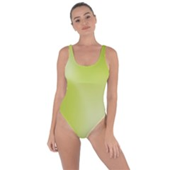 Green Soft Springtime Gradient Bring Sexy Back Swimsuit