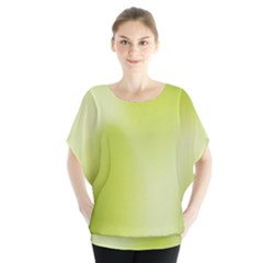 Green Soft Springtime Gradient Blouse