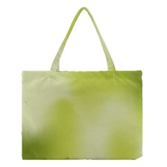 Green Soft Springtime Gradient Medium Tote Bag