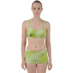 Green Soft Springtime Gradient Women s Sports Set