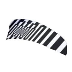 Black Stripes Endless Window Stretchable Headband