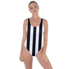 Black And White Stripes Bring Sexy Back Swimsuit