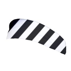 Black And White Stripes Stretchable Headband