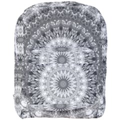 Feeling Softly Black White Mandala Full Print Backpack