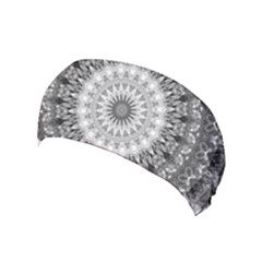 Feeling Softly Black White Mandala Yoga Headband