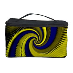 Blue Gold Dragon Spiral Cosmetic Storage Case