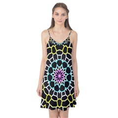 Colored Window Mandala Camis Nightgown
