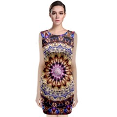 Dreamy Mandala Classic Sleeveless Midi Dress