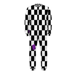 Dropout Purple Check Onepiece Jumpsuit (kids)
