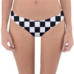 Dropout Purple Check Reversible Hipster Bikini Bottoms