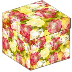 Flower Power Storage Stool 12