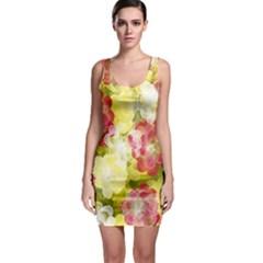 Flower Power Bodycon Dress