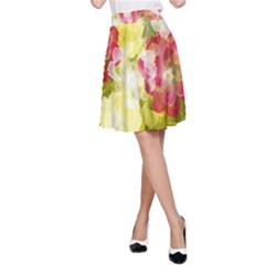 Flower Power A Line Skirt
