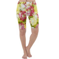 Flower Power Cropped Leggings