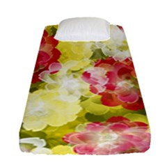 Flower Power Fitted Sheet (single Size)