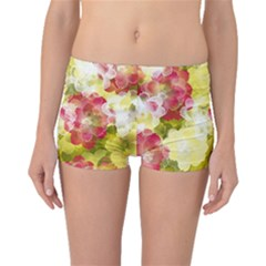 Flower Power Boyleg Bikini Bottoms
