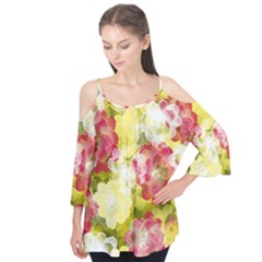 Flower Power Flutter Tees