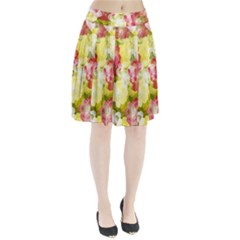 Flower Power Pleated Skirt