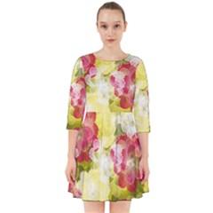 Flower Power Smock Dress