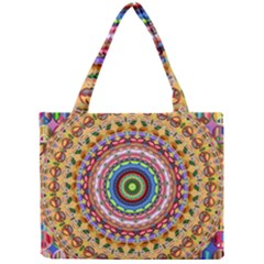 Peaceful Mandala Mini Tote Bag