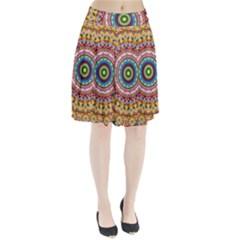 Peaceful Mandala Pleated Skirt