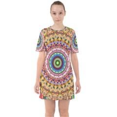 Peaceful Mandala Mini Dress