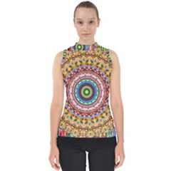 Peaceful Mandala Shell Top