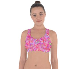 The Big Pink Party Cross String Back Sports Bra