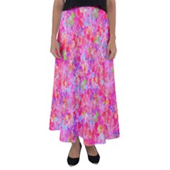 The Big Pink Party Flared Maxi Skirt