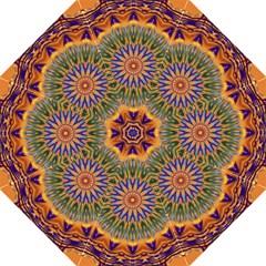 Powerful Mandala Folding Umbrellas