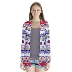 Romantic Dreams Mandala Drape Collar Cardigan