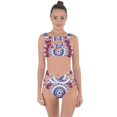 Romantic Dreams Mandala Bandaged Up Bikini Set